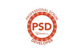 professional scrum developer training and certification logo