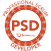 professional scrum developer training logo