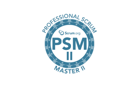 professional scrum master II psm II training and certification logo