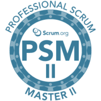 Professional Scrum Master II Training and Certification