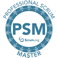 professional scrum master training and certification logo