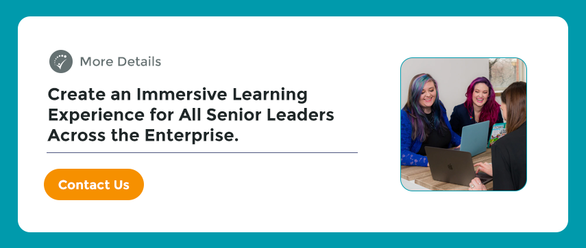 Learning Experience for All Senior Leaders