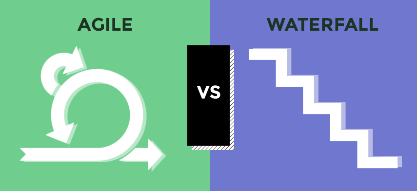 Waterfall vs agile or knowledge vs values
