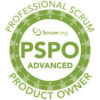 advance professional scrum product owner