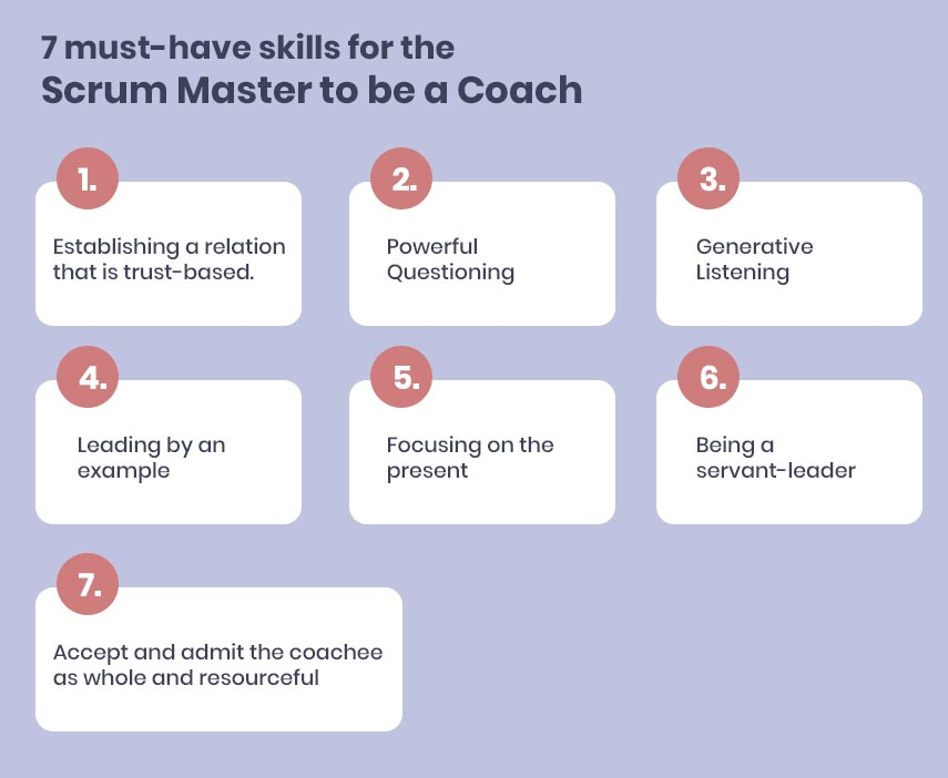 7 must have skills for the Scrum Master to be a Coach