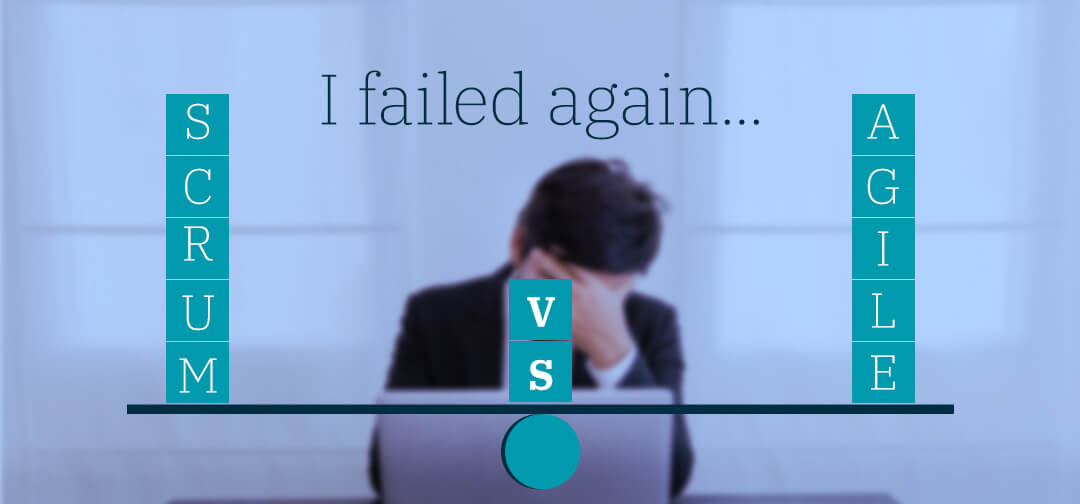 "I failed again – I talked about why agile but they wanted ""how to Scrum"""