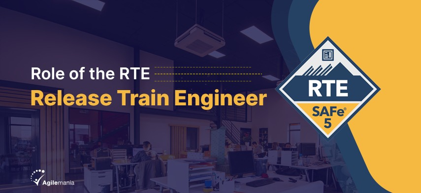 What is the role of the RTE release train engineer?